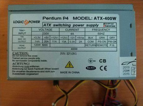 Продам блок питания LOGIC POWER Pentium P4 модель ATX-400W Одесса