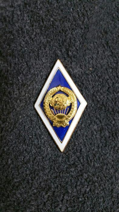 Нагрудный знак университетское образование Хмельницкий - изображение 1