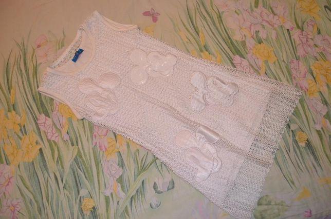 Платье туника паетки минни маус на 8-10 лет