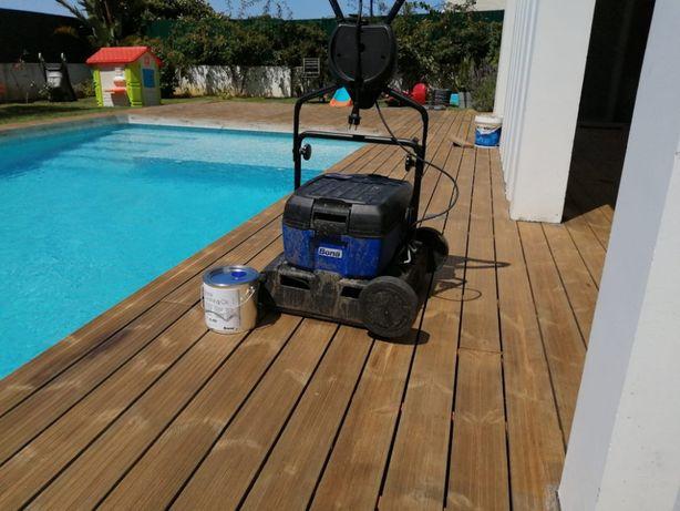 Instalação, Manutençao e limpeza de deck