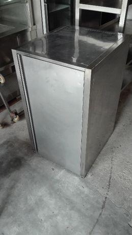 Armário inox vertical 600x700x1050 mm