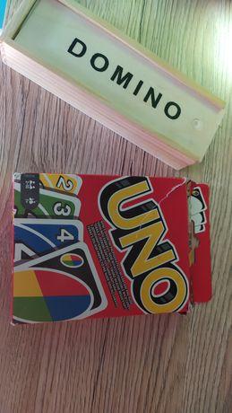 Gra uno i domino 25zl