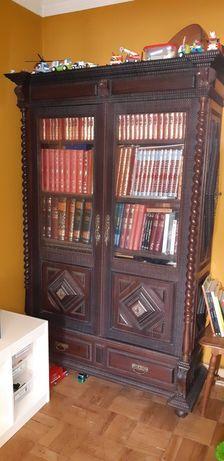 Armário de Livros em Pau Santo Séc XIX