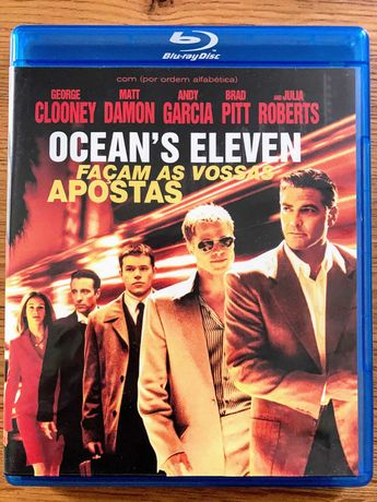 """""""Ocean´s Eleven - Façam as Vossas Apostas"""" - Blu-Ray"""