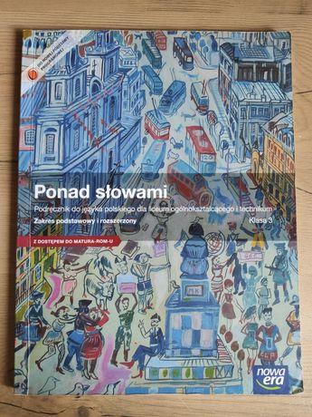 Ponad słowami 3 podręcznik do j.polskiego