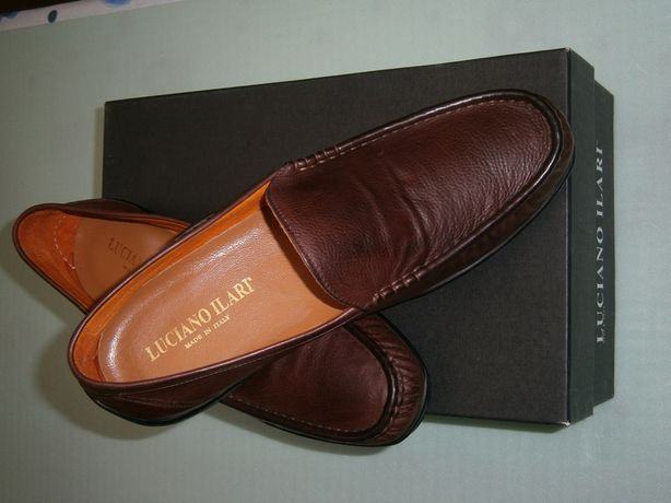 Новые мужские туфли итальянского бренда LUCIANO ILARI размер 4 1