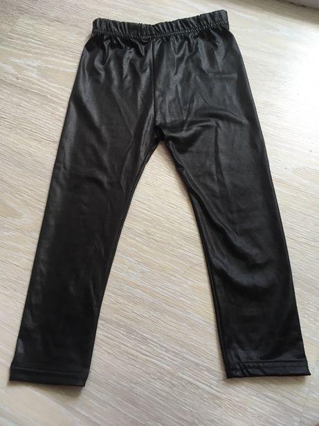 Модные Чёрные лосины