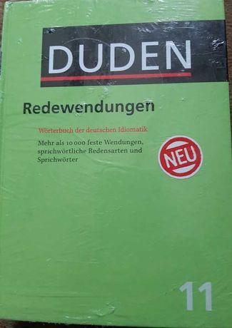Duden Redewendungen Wörterbuch der deutschen Idiomatik 70 zł nowy!
