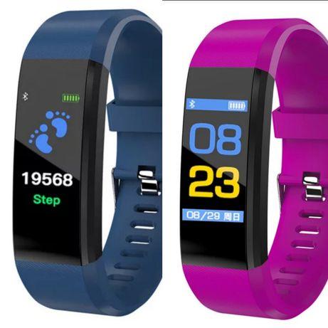 Relógio inteligente pulseira multifunções smartwatch