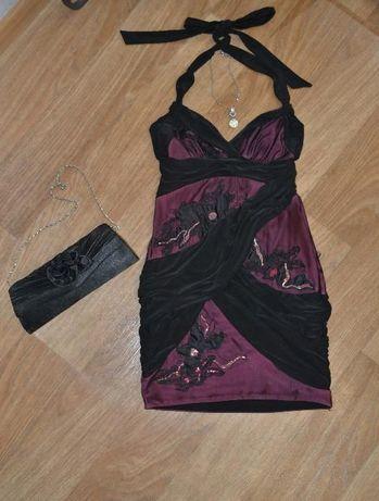 Платье вечернее коктейльное сарафан