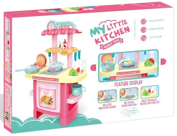 Детская кухня с реалистичными звуками и световыми эффектами и паром