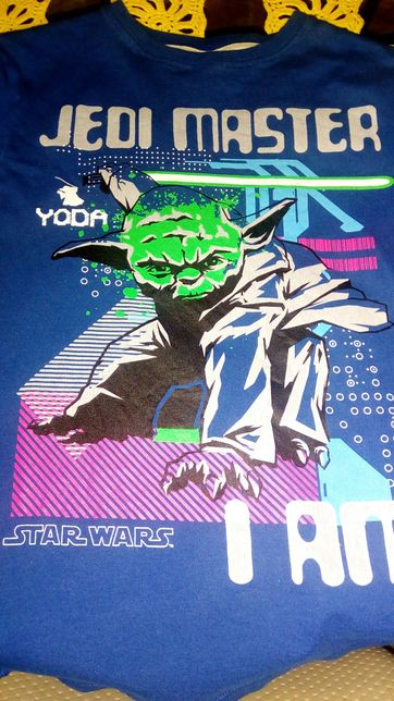 Реглан Звездные войны Star Wars  мастер Йода 12 лет
