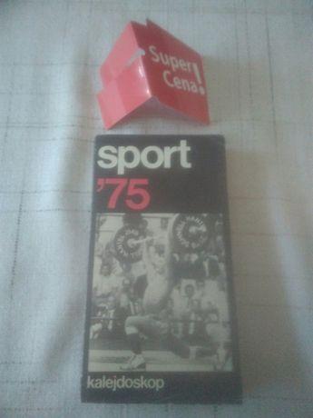 Książka ... kalejdoskop sport 1975