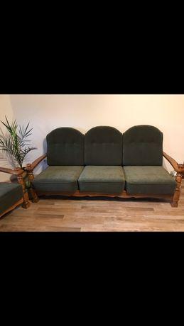 kanapa, fotele i pufy