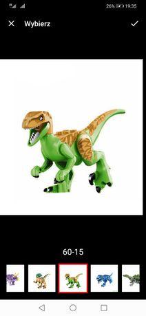 Jurassic World Dinozaur Dinozaury Lego Nowe! 8szt
