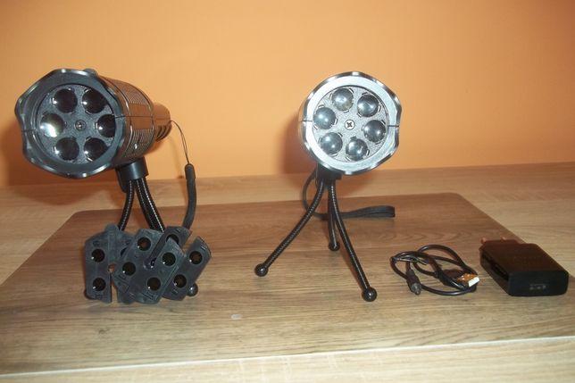 Projektory LED imprezowe.