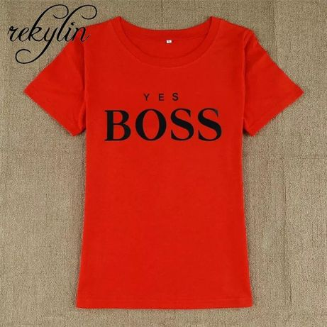 Bluzka Hugo boss czerwona