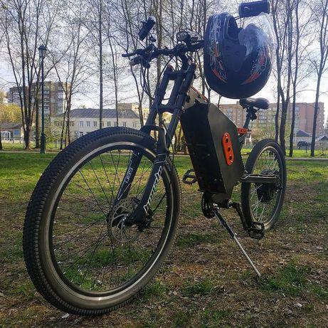 Электробайк 2кВт (Запас хода 75км) (Максимальная скорость 60км/ч)