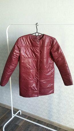 Куртка зимняя марсала