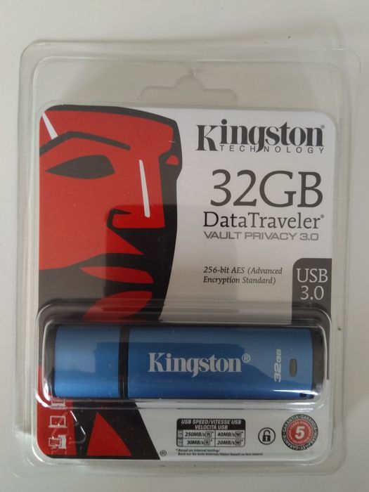 Pendrive Kingston 32 GB Szyfrowanie Gliwice - image 1