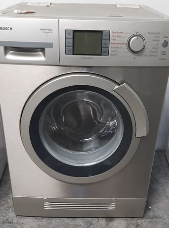 Máquina de lavar e secar roupa Bosch 7kg/4kg