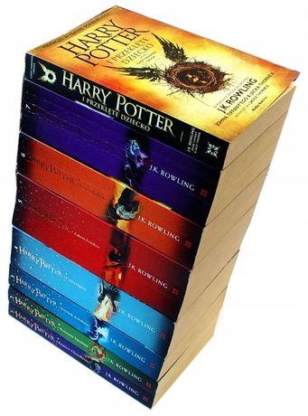 HARRY POTTER zestaw 8 tomów - J. K. Rowling