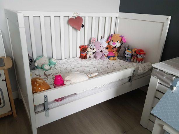 Łóżeczko niemowlęce IKEA SUNDVIK 120x60 + materac