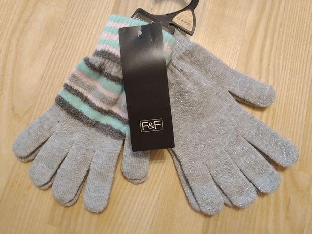 Набор из 2-х пар перчаток, новые