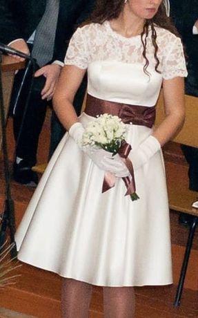 Праздничное платье для свадьбы