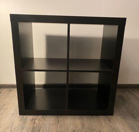 Regał Kallax Expedit IKEA czarnobrązowy
