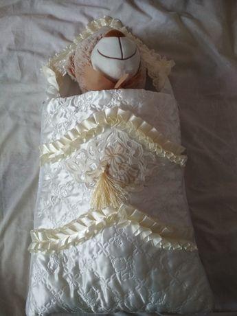 Конверт для новорожденного.