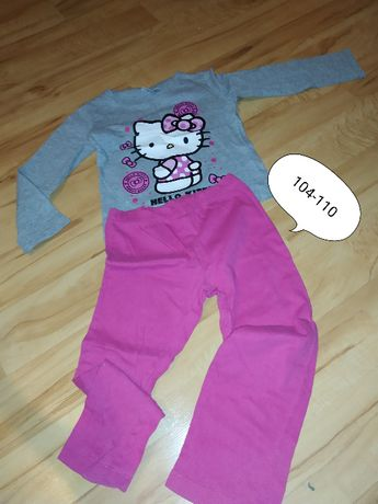 piżamka 104-110 hello kitty