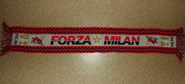 Винтажный шарф AC Milan ( Милан) 90-е годы