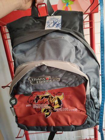 Nowy duży licencjonowany plecak szkolny Transformers