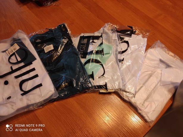 Bluzki białe,wizytowe, nowe, wyprzedaż