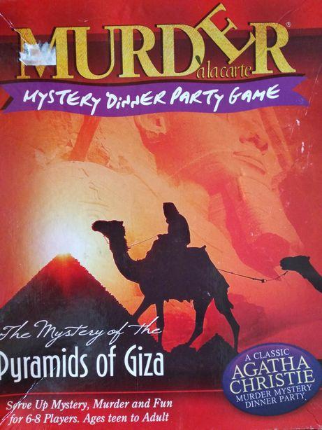 Настольная игра MURDER : Piramids of Giza