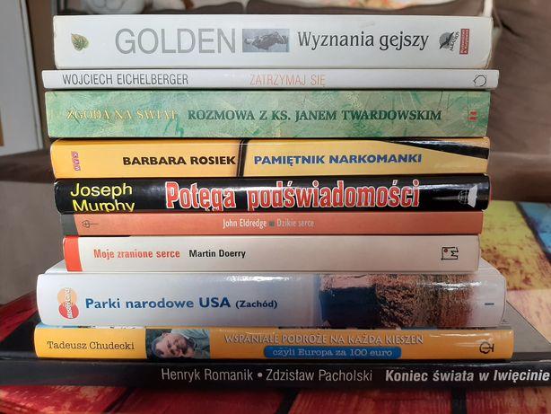 Książki - różne, cena od 5 zł/szt