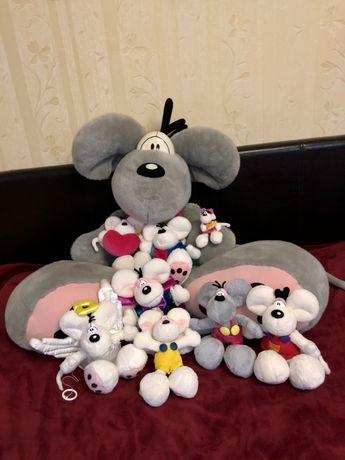 Коллекция Diddl Дідли игрушка большая игрушки мишка мыша мышь