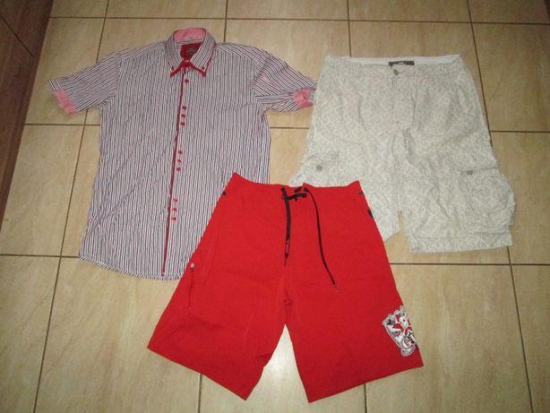 Spodenki męskie i koszula