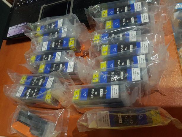Tusze do drukarki CP-550xl black CL 551xl kolor