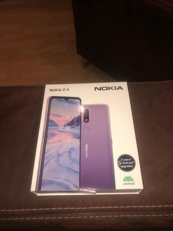 Nokia 2.4 stan jak Nowy, Gwarancja