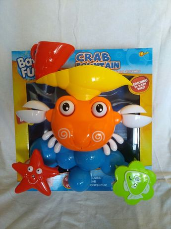 Игрушка для ванной Забавный Краб XoKo Bath Fun