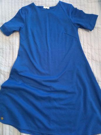 Sukienka kobaltowa Makadamia
