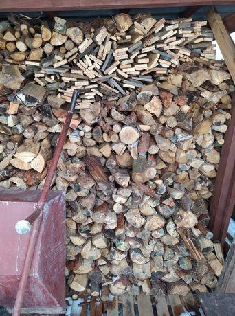 Sprzedam drewno opałowe gotowe pociete.