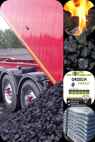 Polski Węgiel KWK Bobrek 29MJ bez kamienia i miału transport