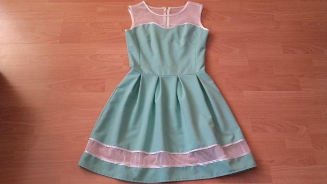 Sukienka miętowa rozmiar 36
