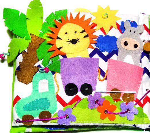Zabawka, książeczka sensoryczna, prezent dla dzieci, handmade, DIY