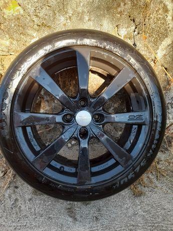 Jantes 17 4x108 pneus 205 50 Troco