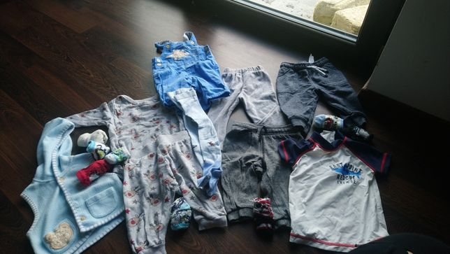 Zestaw paka chłopiec 56-68 Disney ,h&m koszulka do kąpieli
