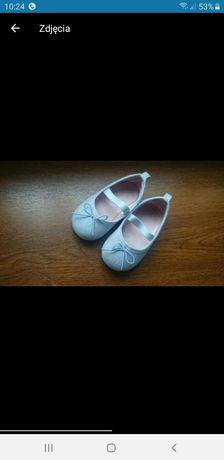 H&M 18/19 buciki balerinki dziewczece cena sklepowa 40zl